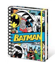 DC COMICS RÉTRO BATMAN A5 COPERTINA RIGIDA TACCUINO FODERATE