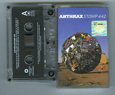ANTHRAX Stomp 442 CASSETTE Tool Korn Slayer Testament System of a Down