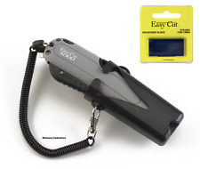 Easy Cut 4000 Auto Retract Safety Box Cutter Knife Easycut & 10 Pack of Blades