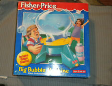 Brand New Fisher Price Big Bubble Machine 1995 SEALED