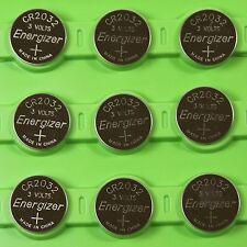 10x Energizer Cr2032 Ecr2032 3V Lithium Battery Lithium Cr 2032 Dl2032 Br2032