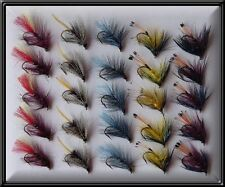 25 IRISH BUMBLES BRAND NEW HAND TIED TROUT FISHING FLIES FLY for rod reel line