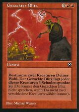 Gezackter Blitz / Jagged Lightning | PL | Portal Second Age | GER | Magic MTG