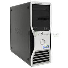 dell precision t5500 intel xeon e5506 8gb 600gb ssd quadro fx 4800 workstation