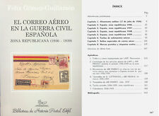 EL CORREO AEREO GUERRA CIVIL ESPAÑOLA ZONA REPUBLICANA (1936-1939) . GUILLAMON