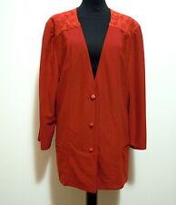 KRIZIA VINTAGE '80 Camicia Donna Jersey Woman Shirt Sz.XL