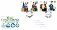 24 MARCH 1982 YOUTH ORGANISATIONS ROYAL MAIL FIRST DAY COVER TAUNTON FDI