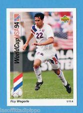 Figurina/CARDS-UPPER DECK 93 -WC USA 94- n.55- WEGERLE - USA