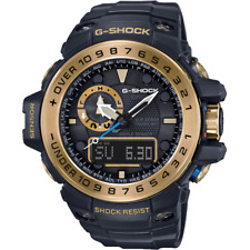 Homme CASIO G-Shock Gulfmaster Black & Gold Montre Digitale GWN-1000GB-1AER RRP £ 580