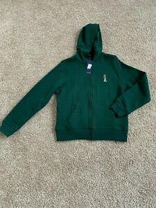 BNWT Polo Ralph Lauren HOL Bears II Youth boys Fleece Hoodie, Size L(14-16)
