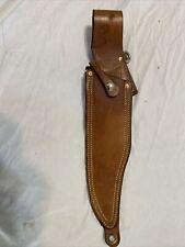 Rambo 3?? knife sheath, hand made, heavy duty Leather, Professional Saddle Maker