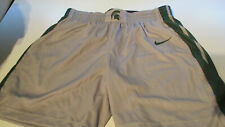 NWT NIKE MICHIGAN STATE SPARTANS MENS SHORTS GRAY/GREEN MEDIUM