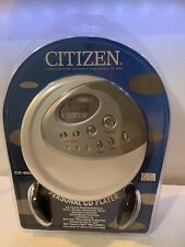 Citizen Portable Cd Player Model Cd-800 New Sealed Unopened