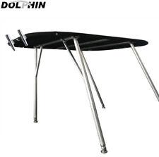 Dolphin t top walk around t top wakeboard tower bimini top w/ 2 free rod holders