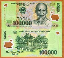 Vietnam, 100000 (100,000) dong, 2012, Pick122-New, Polymer, UNC
