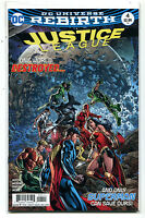 Justice League-Rebirth #4 NM One World Destroyed  DC Comics MD 11