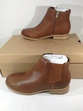 TIMBERLAND Womens Rangeley Chelsea Brown Ankle Boots Shoes Size 7 W TM-134