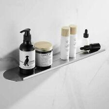 Wall Mount Bathroom Rectangle Shelves Brushed SUS304 Shower Caddy Rack Storage