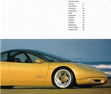 BIG 1991 Pontiac Brochure: FIREBIRD,Trans-Am GTA,SPORT,GRAND PRIX/AM,BONNEVILLE,