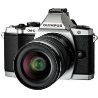 Olympus OM-D E-M5 Mirrorless Micro 4/3 W/ 12-50mm Lens SLV V204045SU000RB