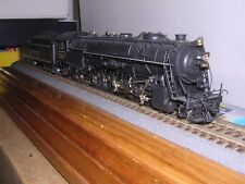 "BRASS N.J.Custom #ST-805  Reading K-1 2-10-2 Steam Loco #3014 ""H.O."" 1/87"