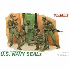 Dragon DRA3017 U.S. NAVY SEALS 1/35 scale plastic model kit