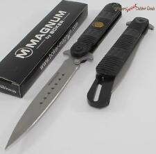 "9.75"" Boker Magnum Police S.W.A.T. Stiletto Style Tactical Folding Pocket Knife"
