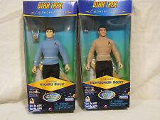 "Star Trek - Where No Man Has Gone Before - Set of 2 - 9"" Figs - Sulu, Scott"