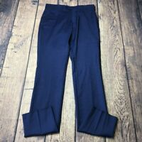 Tommy Hilfiger Men's Size 32 Unhemmed Lowen Blue Dress Pant New