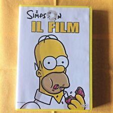 I SIMPSON IL FILM dvd Italiano x bambini cartoni animati