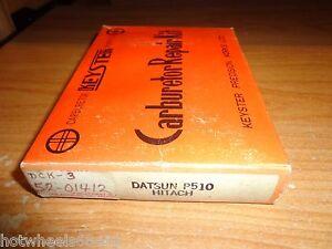 New Keyster 1968-1969-1970 Datsun 510 P510 L16 1.6L Hitachi Carburetor Kit