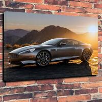 "Aston Martin DB9  Printed Canvas Picture A1.30""x20"" -30mm James Bond British 007"