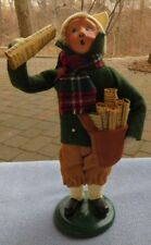 Byers Choice Caroler Newspaper Delivery Boy