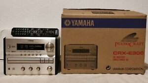 Yamaha CRX-E300 PianoCraft CD Receiver / Player - Top Klang - mit Fernbedienung