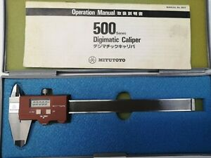 """Mitutoyo digital caliper No 500-115 0-150mm Or 0-6"""""""
