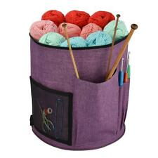 Portable Knitting Storage Tote Bags Crochet Hook Holder Household Yarn Organizer