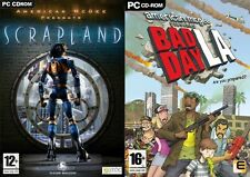 American McGee Presents Scrapland &American McGee Presents Bad Day LA new&sealed