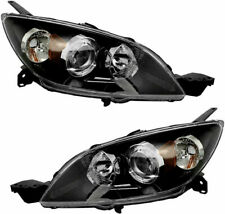 Fit For Mazda 3 Hatchback W/O Turbo 2004 - 2009 Headlight Halogen Right & Left (Fits: Mazda)