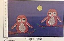 CHERISHED STITCHES SMOCKING PLATE-HOOT'N HOLLER