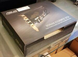 Asus Xonar Essence STX Hi-Fi Quality Audiophile Sound card with headphone amp