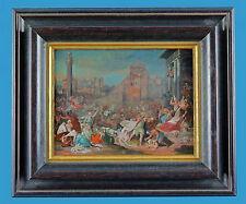 'Der Kindermord zu Bethlehem' Hans Bol (1534-1593) Öl auf Pergament vor 1600
