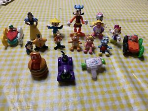Vintage 80's & 90's Lot Of McDonald Happy Meal Toy Figure Lot - 16