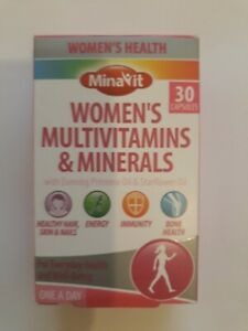 WOMEN`S -MULTIVITAMINS & MINERALS  WITH  EVENING PRIMOSE OIL - 30 CAPSULES