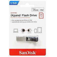 SanDisk iXpand USB 3.0 Flash Drive 16GB/32GB/64GB/128GB For iPhone iPad-UK