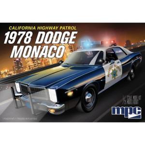 MPC 922 1/25 1978 Dodge Monaco CHP Police Car 2T Plastic Model Kit Brand New