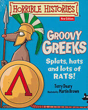 Horrible Histories Groovy Greeks by Terry Deary BRAND NEW BOOK (Paperback, 2014)