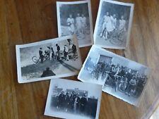 Photos anciennes de vélos anciens cyclistes PANNEAUX ROUTIERS VOSGES