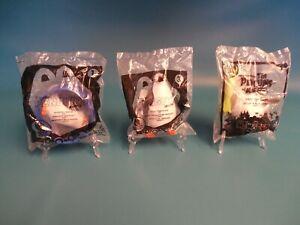 McDonalds Penguins of Madagascar Toys #1, #3, & #8