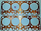 Oldsmobile Olds 303 324 Head Gasket Pair 1949- 56 Old Stock Copper USA  for sale
