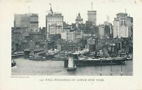 NEW YORK CITY - Tall Buildings Of Lower New York - udb (pre 1908)